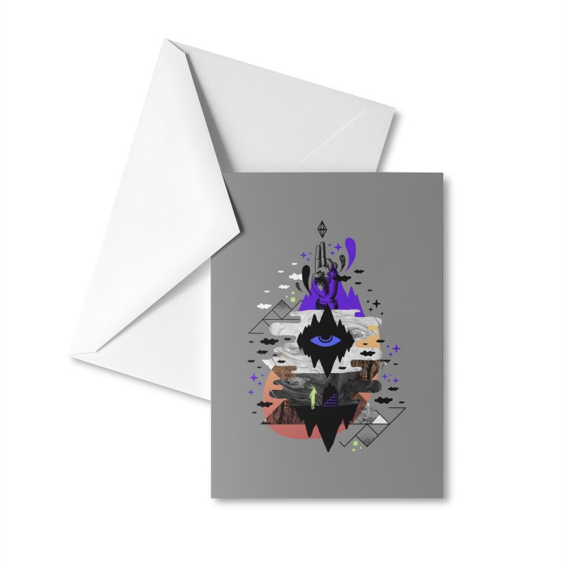 Ascended Accessories Greeting Card by ordinaryfox