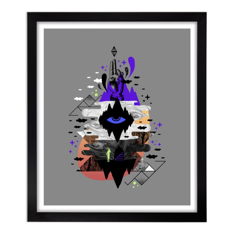 Ascended Home Framed Fine Art Print by ordinaryfox
