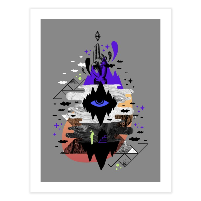 Ascended Home Fine Art Print by ordinaryfox