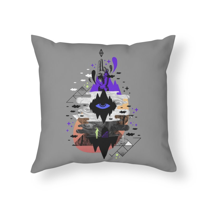 Ascended Home Throw Pillow by ordinaryfox