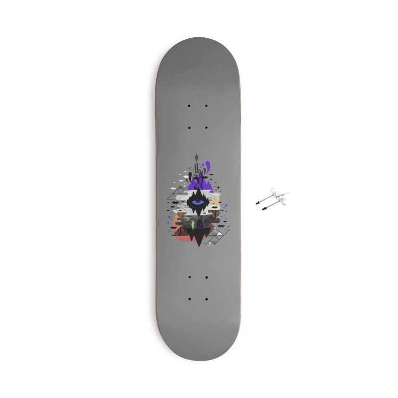 Ascended Accessories Skateboard by ordinaryfox