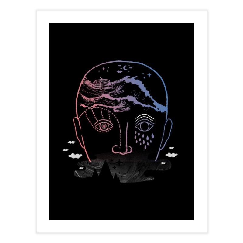 Imaginary Illness Home Fine Art Print by ordinaryfox