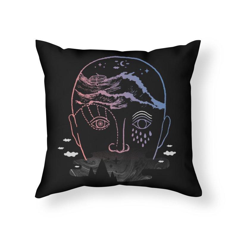 Imaginary Illness Home Throw Pillow by ordinaryfox