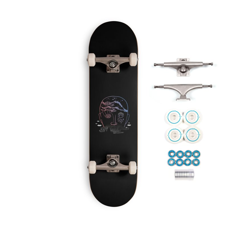 Imaginary Illness Accessories Skateboard by ordinaryfox