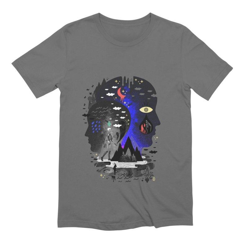 Hypomania Men's T-Shirt by ordinaryfox