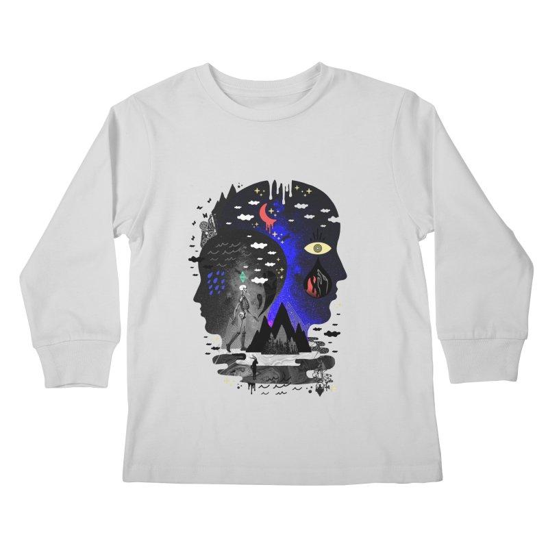 Hypomania Kids Longsleeve T-Shirt by ordinaryfox