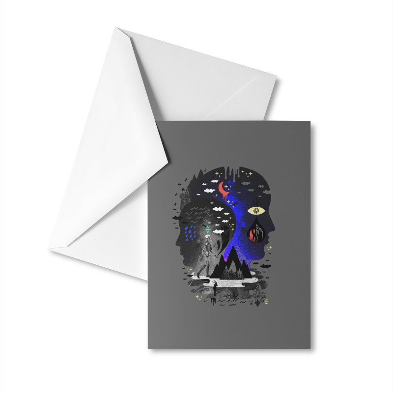 Hypomania Accessories Greeting Card by ordinaryfox