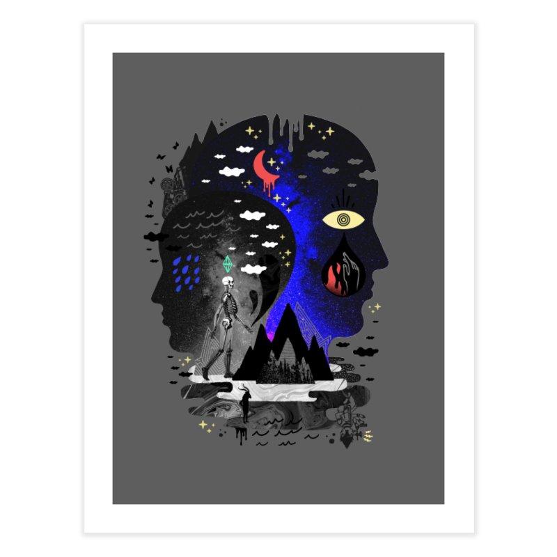 Hypomania Home Fine Art Print by ordinaryfox