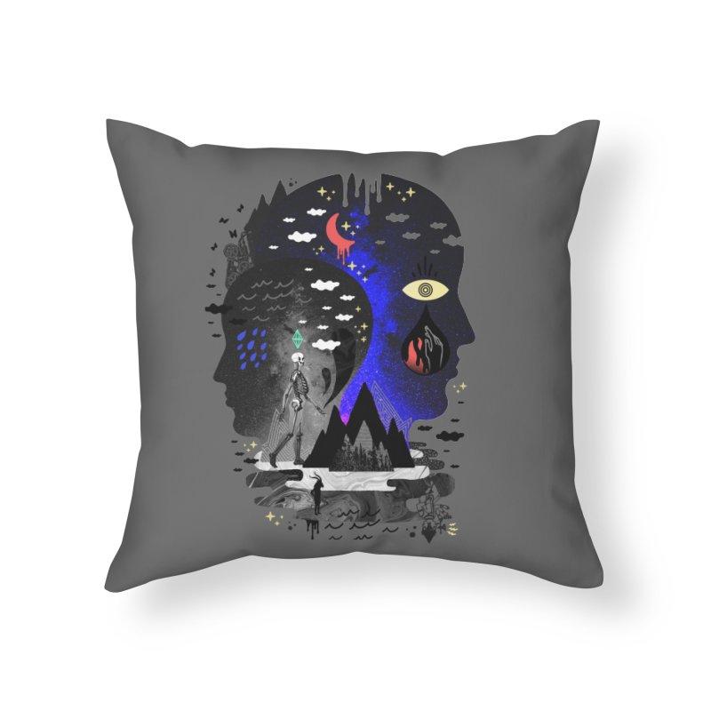 Hypomania Home Throw Pillow by ordinaryfox