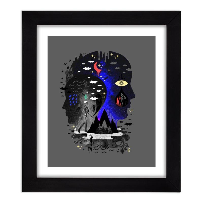 Hypomania Home Framed Fine Art Print by ordinaryfox
