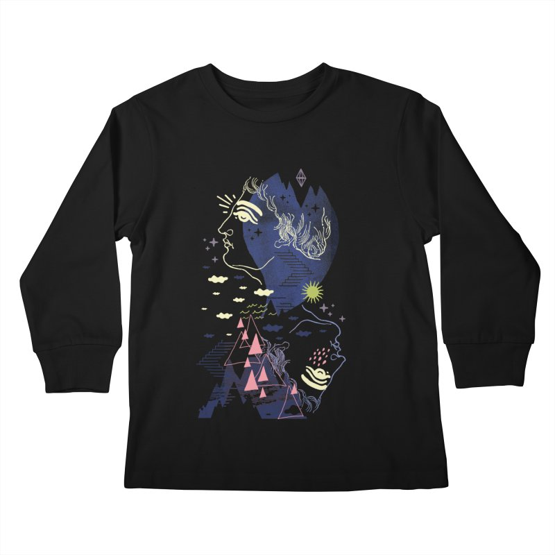 Self Esteemed Kids Longsleeve T-Shirt by ordinaryfox