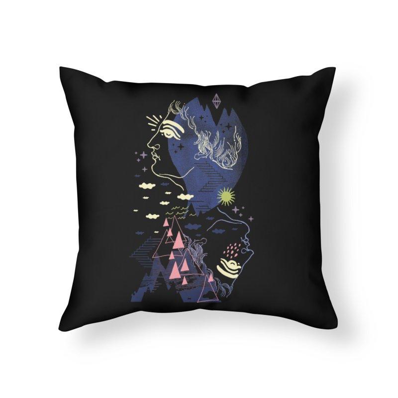 Self Esteemed Home Throw Pillow by ordinaryfox
