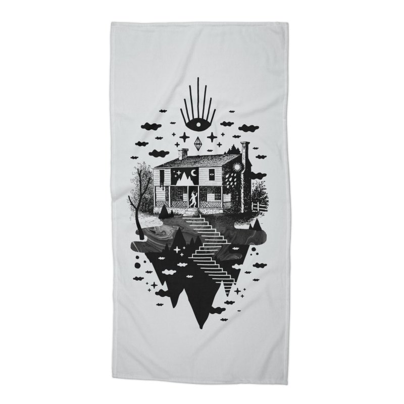 Vacation Home Accessories Beach Towel by ordinaryfox
