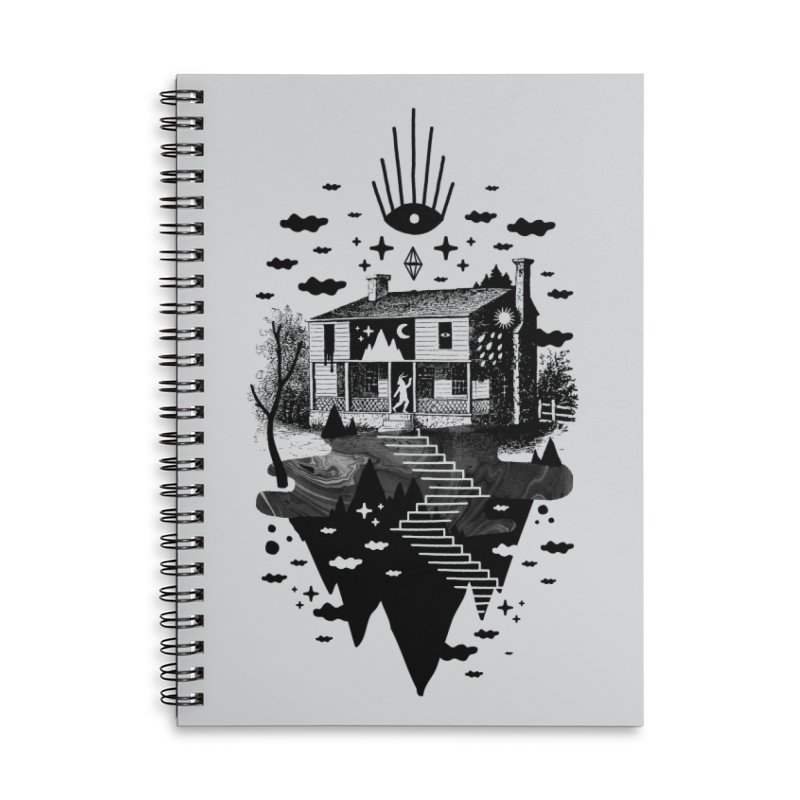 Vacation Home Accessories Notebook by ordinaryfox
