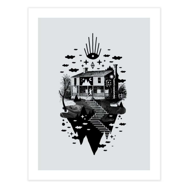 Vacation Home Home Fine Art Print by ordinaryfox
