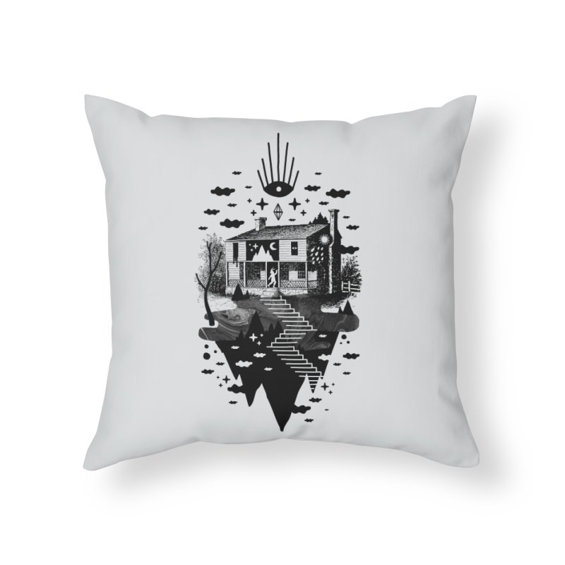 Vacation Home Home Throw Pillow by ordinaryfox