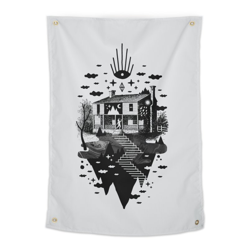Vacation Home Home Tapestry by ordinaryfox