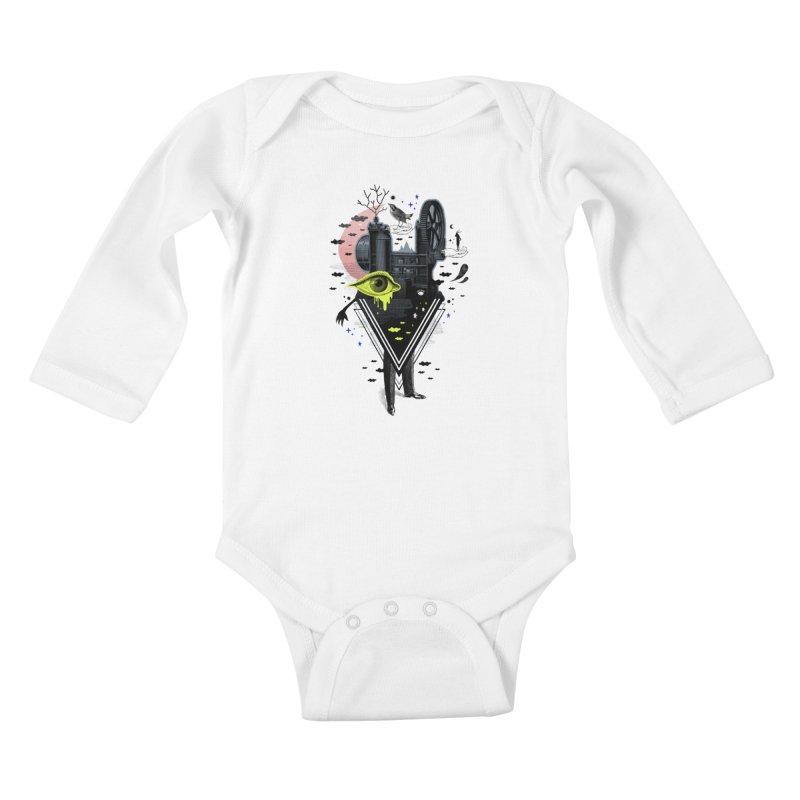 Metamorph Kids Baby Longsleeve Bodysuit by ordinaryfox