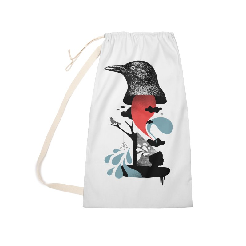 Brainwash Accessories Laundry Bag Bag by