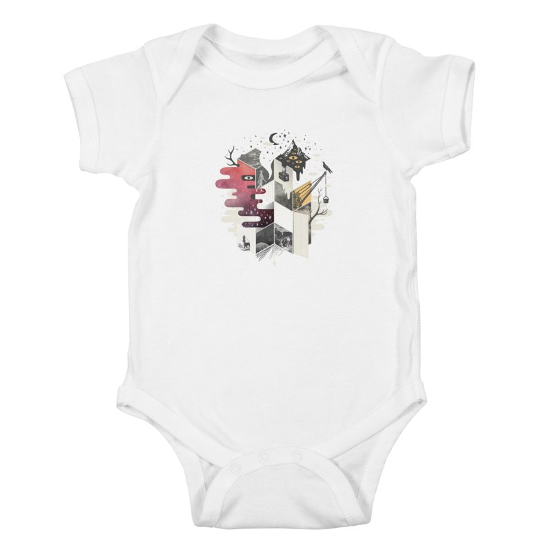 Jung at Heart Kids Baby Bodysuit by ordinary fox