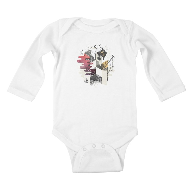 Jung at Heart Kids Baby Longsleeve Bodysuit by ordinary fox