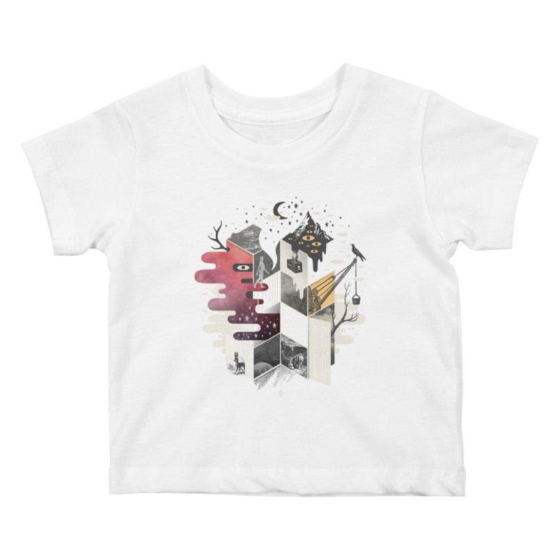 Jung at Heart Kids Baby T-Shirt by ordinary fox