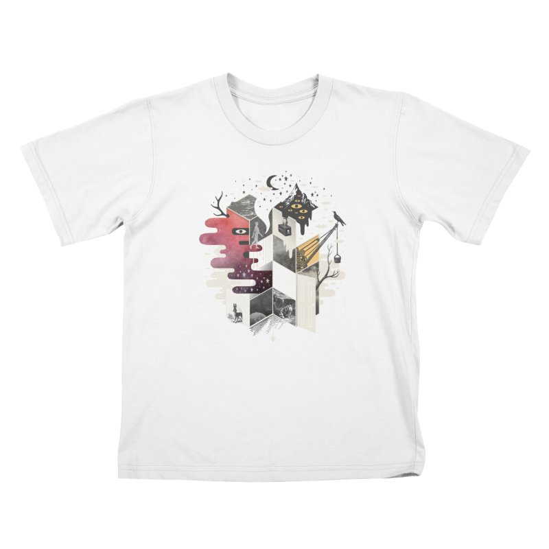 Jung at Heart Kids T-Shirt by ordinary fox
