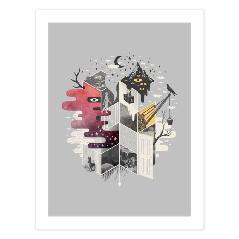Jung at Heart Home Fine Art Print by ordinary fox