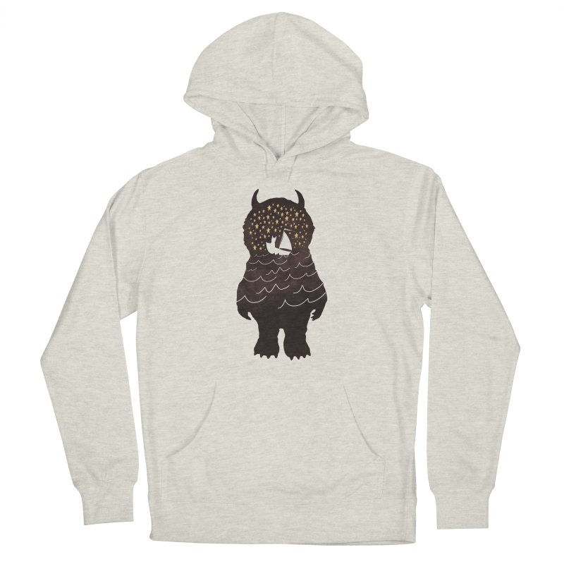 And Into The Night Men's Pullover Hoody by