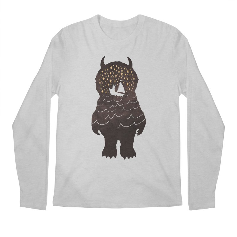And Into The Night Men's Longsleeve T-Shirt by