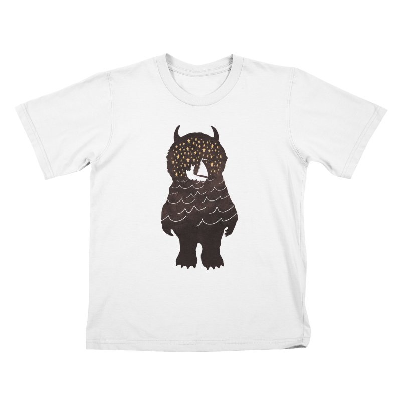 And Into The Night Kids T-Shirt by
