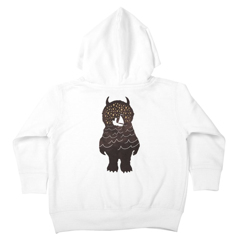 And Into The Night Kids Toddler Zip-Up Hoody by ordinary fox