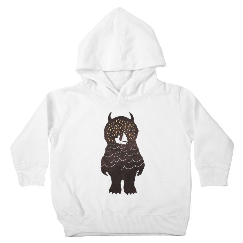 And Into The Night Kids Toddler Pullover Hoody by ordinary fox