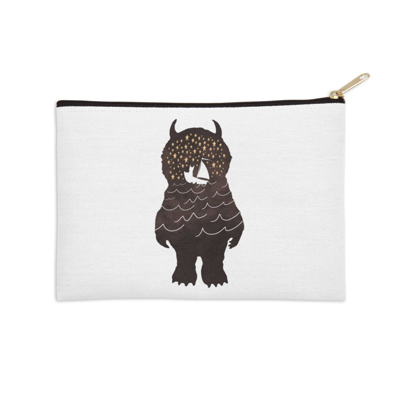 And Into The Night Accessories Zip Pouch by