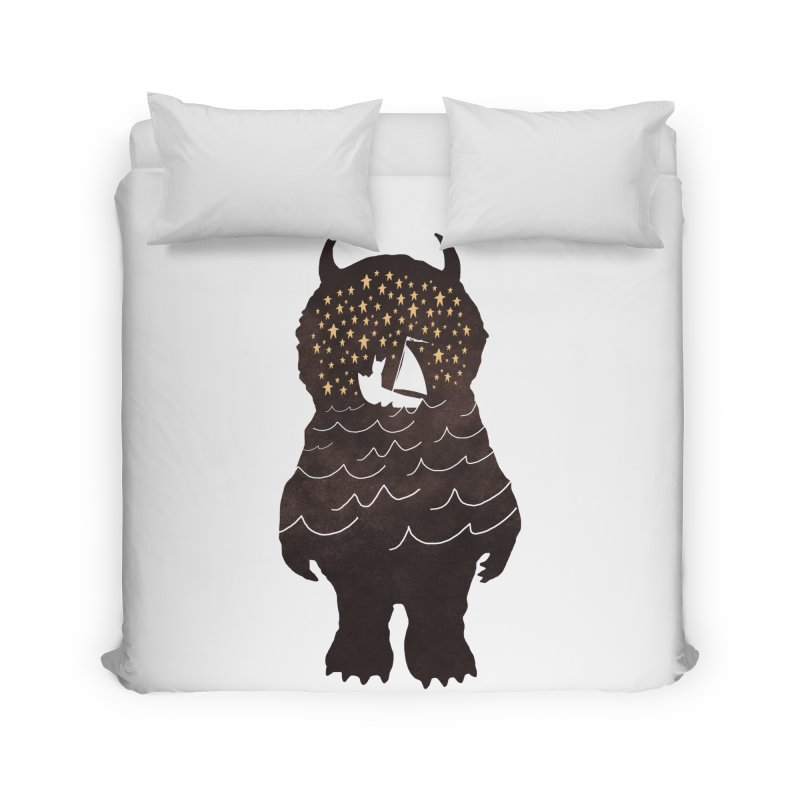 And Into The Night Home Duvet by ordinaryfox