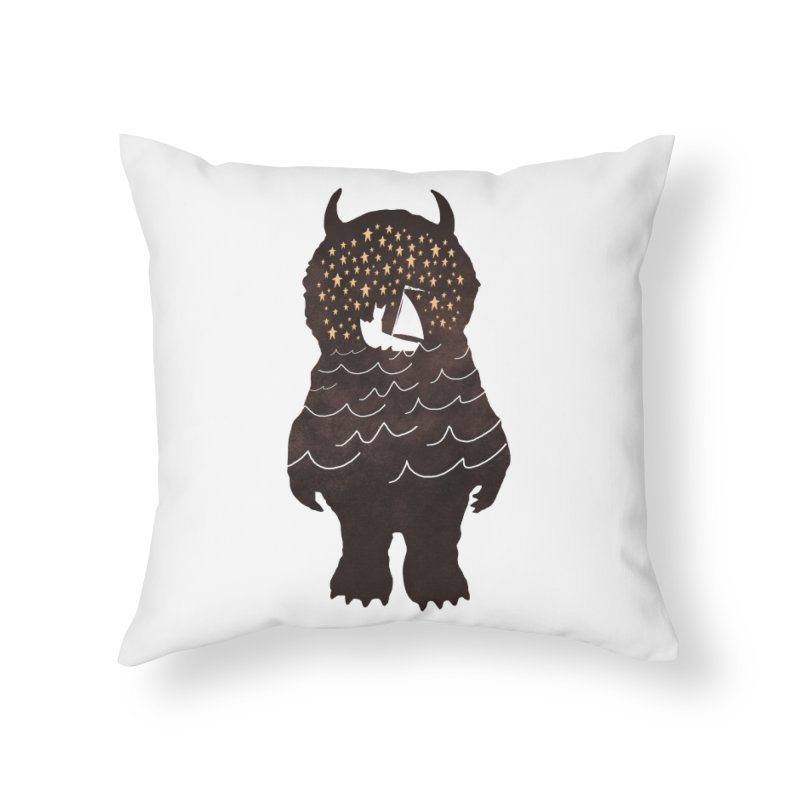 And Into The Night Home Throw Pillow by ordinaryfox