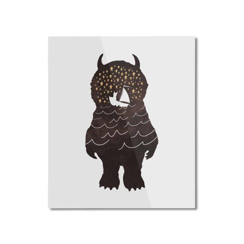 And Into The Night Home Mounted Aluminum Print by ordinaryfox