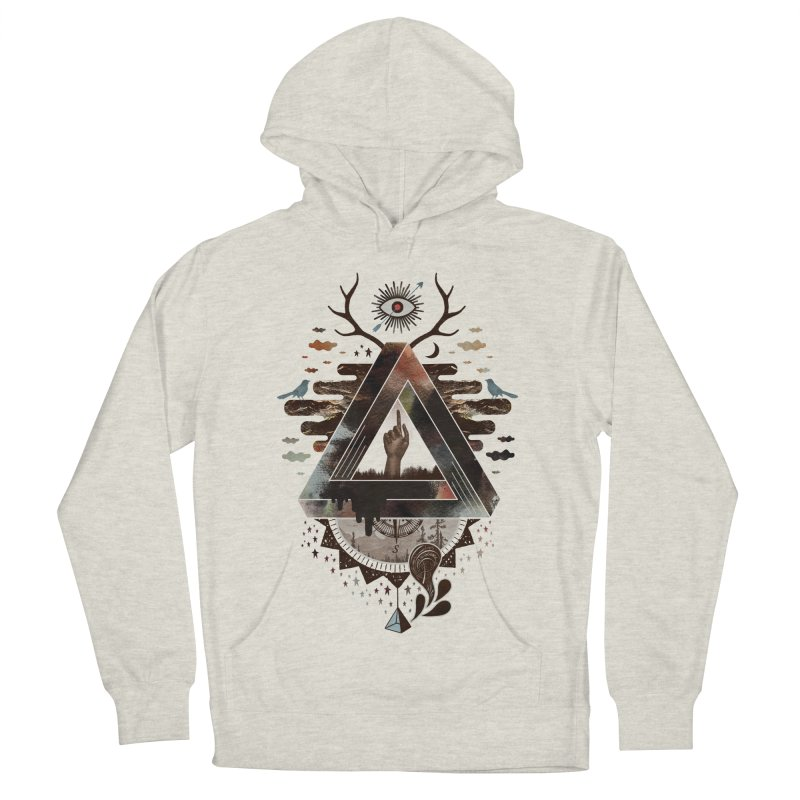 All Impossible Eye Women's French Terry Pullover Hoody by ordinary fox
