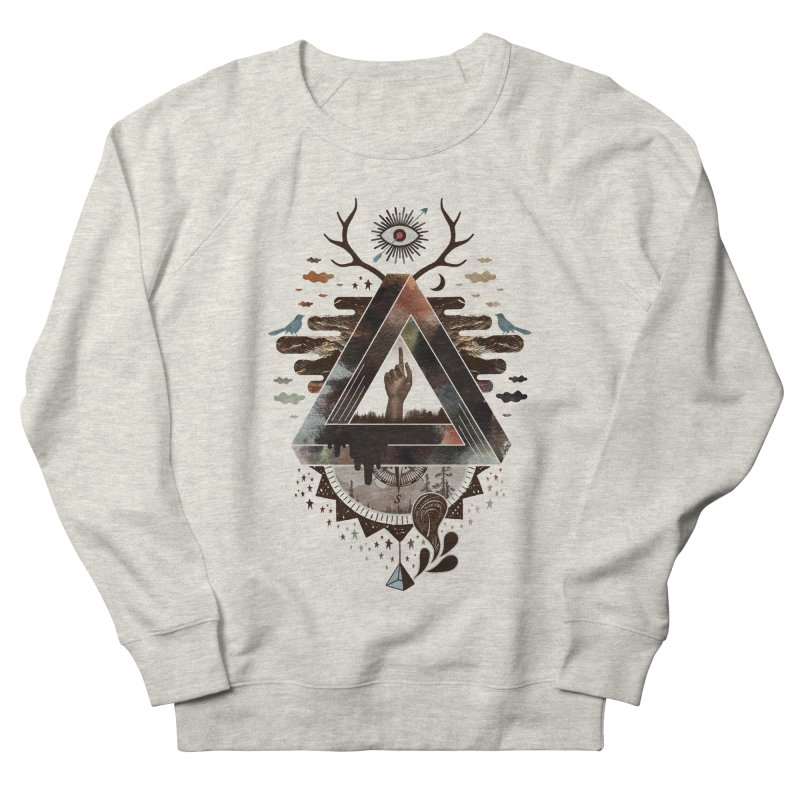 All Impossible Eye Women's French Terry Sweatshirt by ordinary fox