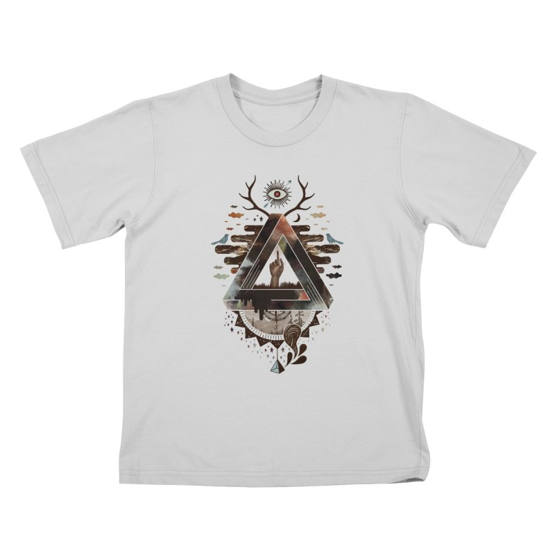 All Impossible Eye Kids T-Shirt by ordinary fox