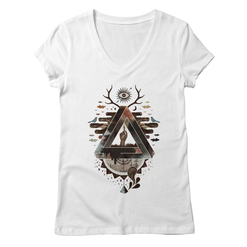 All Impossible Eye Women's Regular V-Neck by