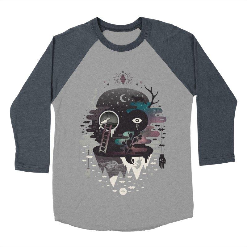 Daemon Women's Baseball Triblend Longsleeve T-Shirt by ordinary fox