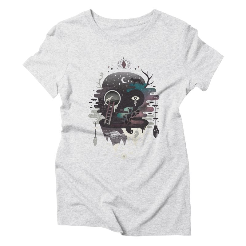 Daemon Women's Triblend T-Shirt by ordinary fox
