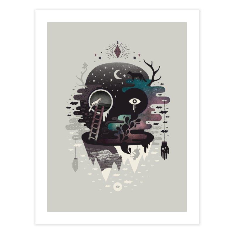 Daemon Home Fine Art Print by