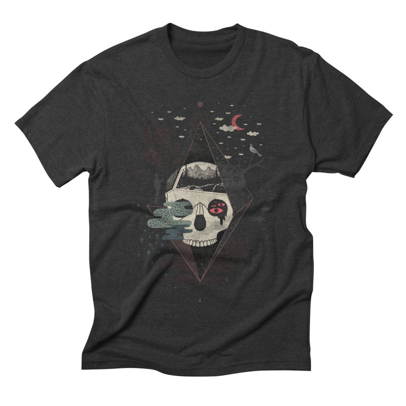 Happy Riddle Men's Triblend T-Shirt by ordinary fox