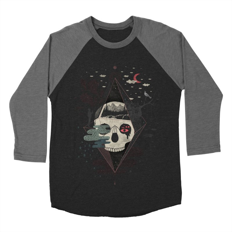 Happy Riddle Men's Baseball Triblend Longsleeve T-Shirt by ordinary fox