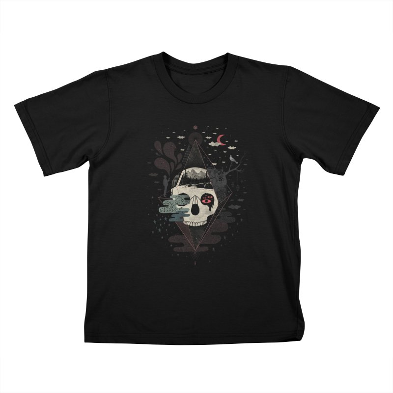 Happy Riddle Kids T-Shirt by ordinary fox