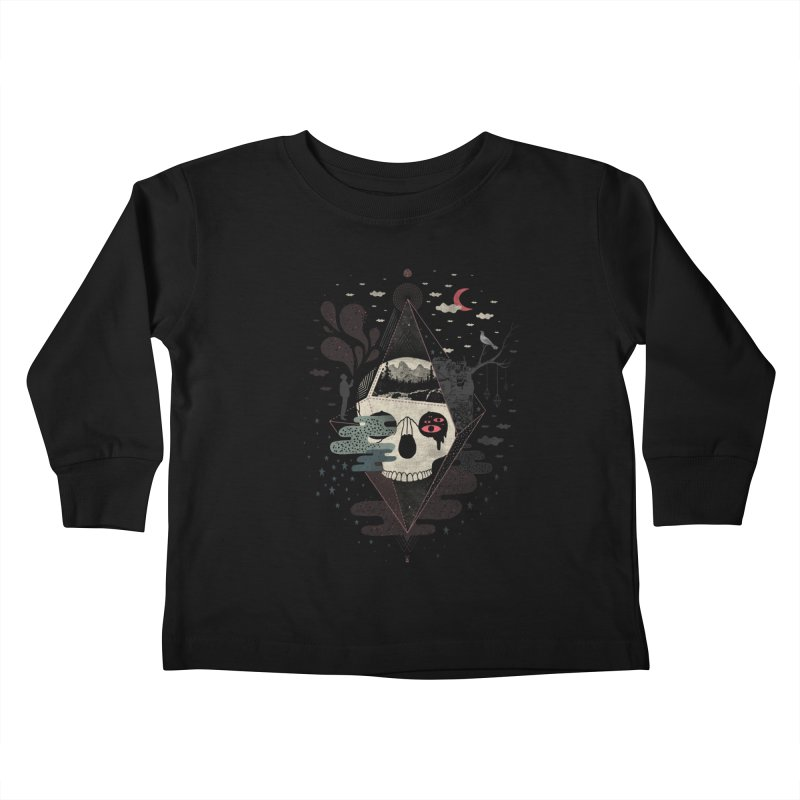Happy Riddle Kids Toddler Longsleeve T-Shirt by ordinary fox
