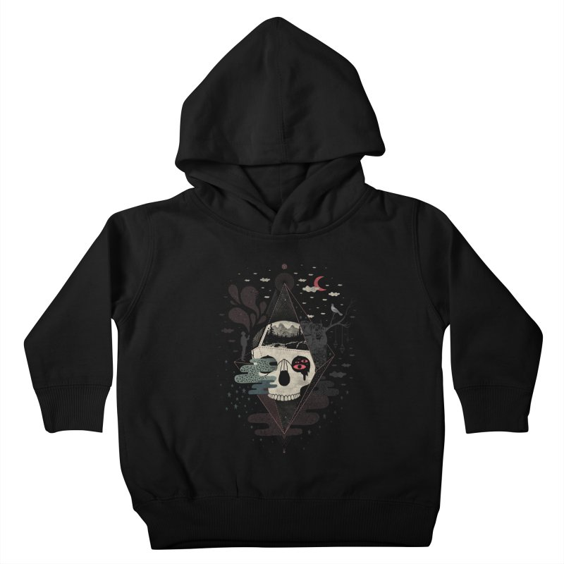 Happy Riddle Kids Toddler Pullover Hoody by ordinary fox