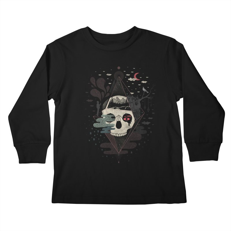 Happy Riddle Kids Longsleeve T-Shirt by ordinary fox